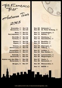 Autumn Tour Poster Flamenco Thief