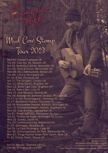 2013 Two Week European Tour